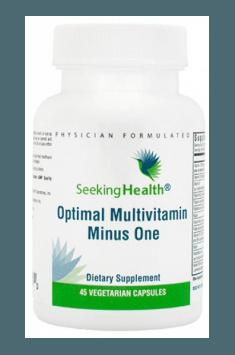 Optimal Multivitamin Minus One