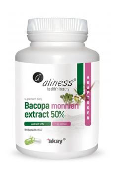 Bacopa Monnieri Extract 50% 500 mg