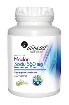 Natriumbutyrat 550 mg