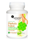 ALINESS Methylo Folat 5-MTHF 600mcg 100 kaps.