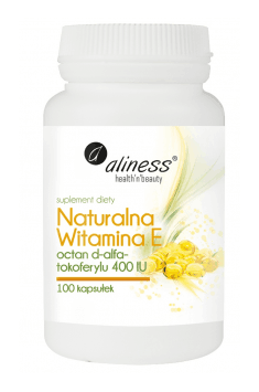 Natürliches Vitamin E 400IU