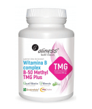 ALINESS Vitamin B Complex B-50 Methyl TMG Plus 100 kaps.
