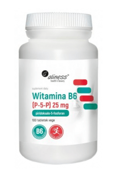 Vitamin B6 (P-5-P) 25mg