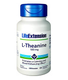 LIFE EXTENSION L-Theanine 100mg 60 kaps.