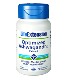 LIFE EXTENSION Optimized Ashwagandha Extract 60 kaps.