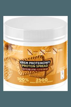 Proteincreme mit Lotus-Keks-Geschmack